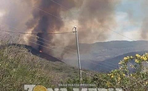 600 hectáreas de la sierra dañadas
