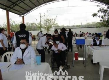 Inició jornada de vacunación Covid
