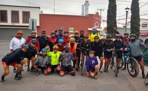 Elsa González Lizcano alcanzó reto de ciclismo