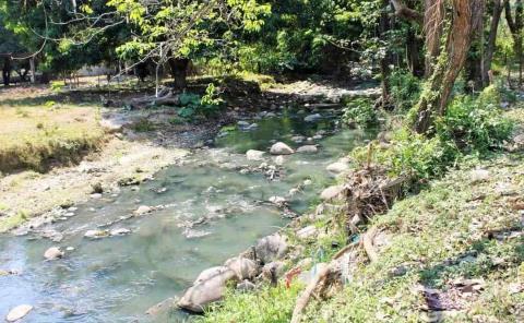 Familias consumen agua contaminada