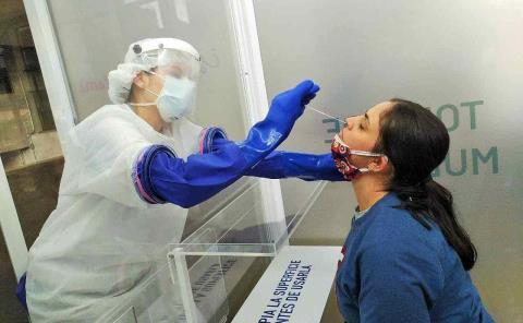Avala Sector Salud las pruebas rápidas