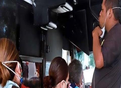 Autobuses violan protocolos Covid