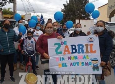 Realizaron marcha por Día del Autismo