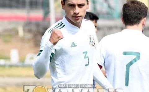 Ramón anotó en la victoria de México