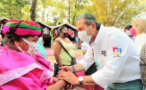 Respaldará Pedroza a mujeres indígenas