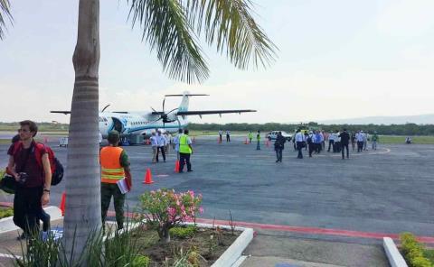 Retomarán obras en el aeropuerto