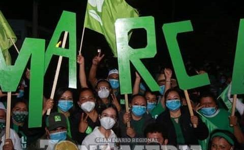 Marcela Quevedo inició campaña con fuerza