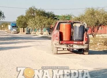 Agua lo más urgente en las comunidades