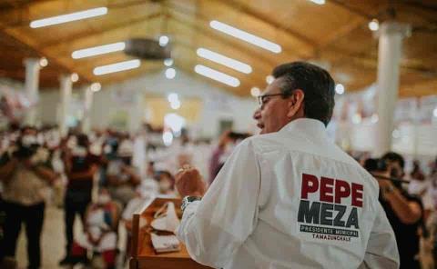 Ofrece Pepe Meza una administración al servicio del pueblo