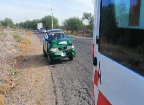 HERIDA EN ACCIDENTE