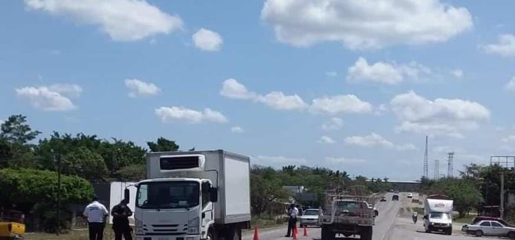 Asaltan a camioneta repartidora de carne