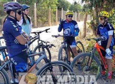 """""""Rodada"""" con causa organizan ciclistas"""