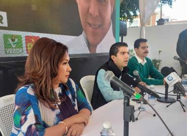 Pide partido Verde al INE investigar a Octavio Pedroza