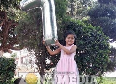 7 años cumplió la niña Briana