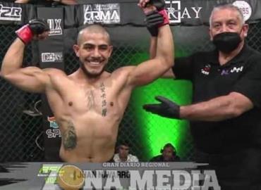 """""""Agresivo"""" ganó con KO en MMA"""