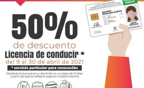 50% en renovación de licencias en Finanzas