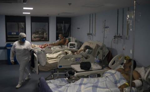 Récords de muertes y casos de coronavirus