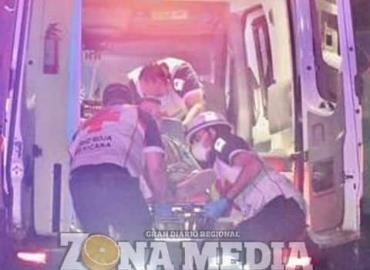 Jovencito atropellado por vehículo de policía