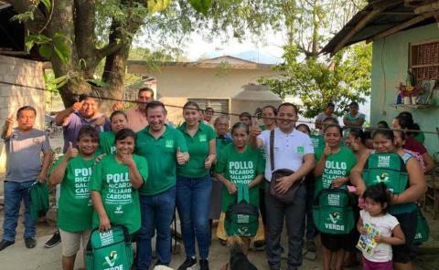 Con el respaldo de las mujeres ganará Christian Sánchez S.