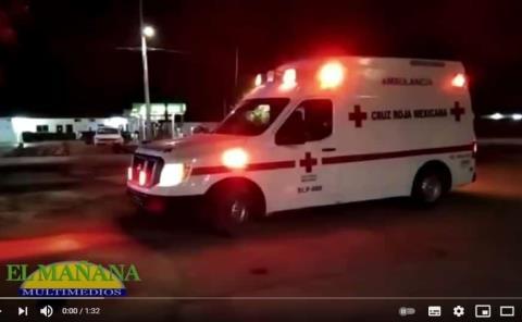 Tres lesionados en Ciudad Valles