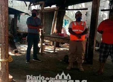 Realizaron supervisión de casas de matanzas