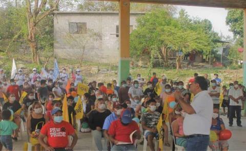 Reconocen ciudadanos a Baldemar como el próximo presidente
