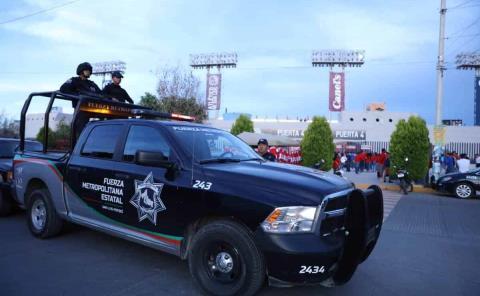20 policías cuidan a candidatos