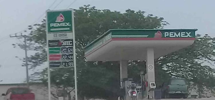 Atacó a trabajador de una gasolinera
