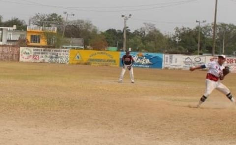 Se jugó la 2ª Jornada en softbol varonil