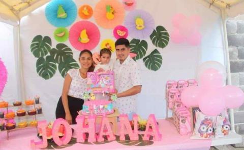 Segundo aniversario de Edna Johana Loza