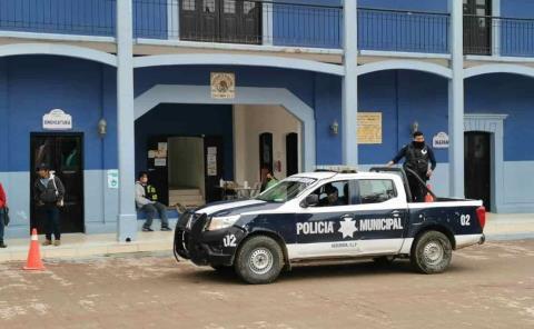 Mujeres reclaman vigilancia policiaca