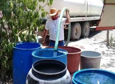 Sin solución falta de agua