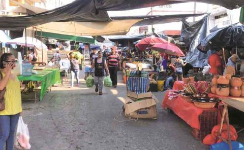Regularán el tianguis