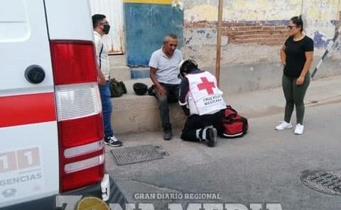 Motociclista fue arrollado