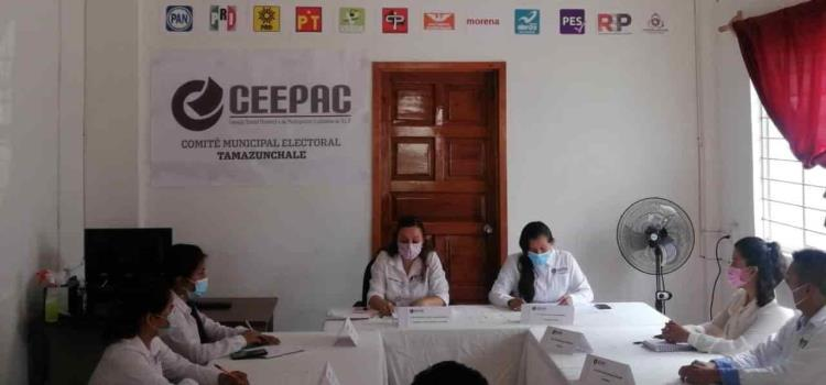 8 candidatos rumbo a la Presidencia Mpal.