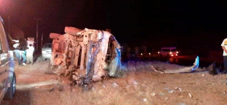 Seis heridos en volcadura; son de Matlapa