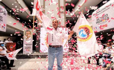 Octavio Pedroza es el candidato de la CTM