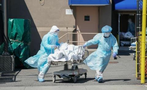 Acumulan cadáveres en EU