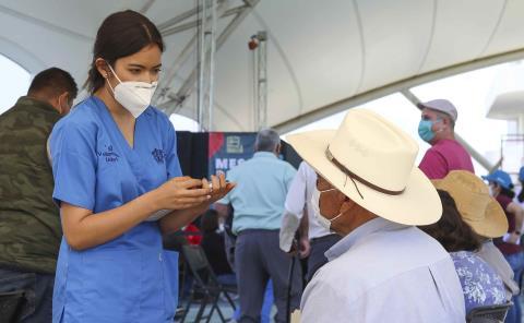 Para mayo terminan de aplicar vacunas