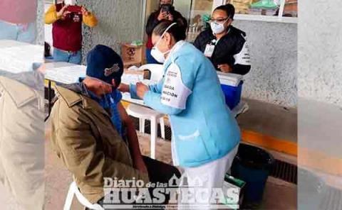Recibirán la segunda  aplicación de vacuna