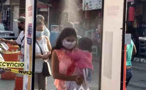 Reinstalaron los filtros sanitizantes