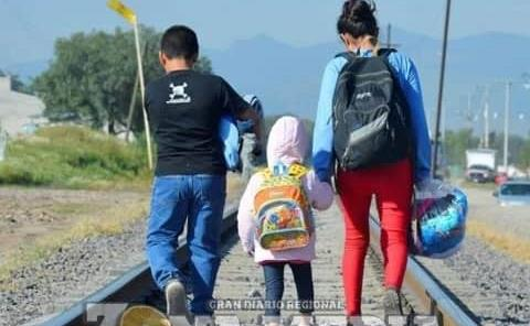 Aumentó  migración de niños