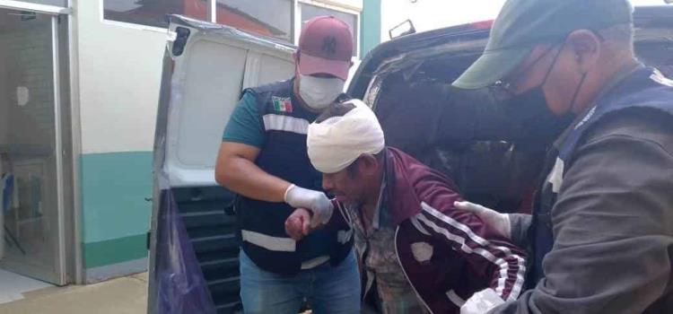 Conductor de moto embistió a un ciclista