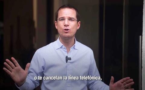 López Obrador quiere todo el control: Anaya