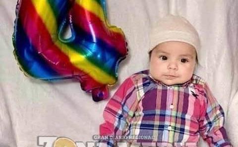 4 meses cumplió el bebé Lucas