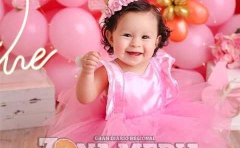 Hermosa Renata en su primer año