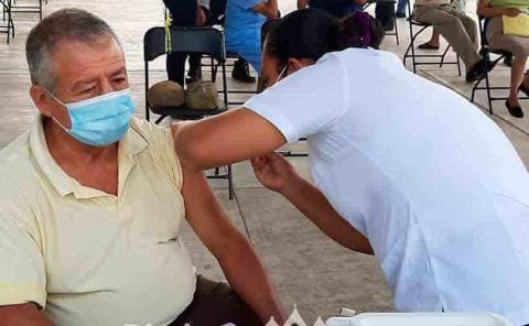 Recibieron vacuna de la segunda dosis