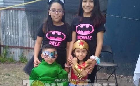 Bellos Valery, Mía Michelle y Mateo