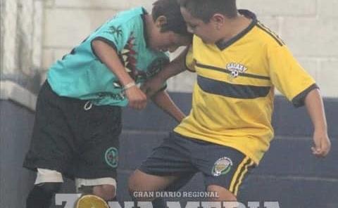 El futbol infantil retomó acciones
