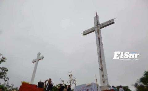 No habrá misa en el Cerro de la Cruz